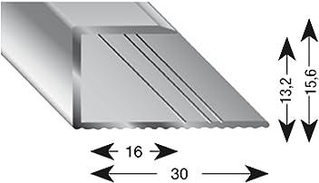 25//20//1000 mm K/ügele 105A SD 100S Treppenwinkel Alu sand eloxiert selbstklebend