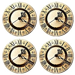 MSD Round Coasters Old antique clock Image 3985302 by MSD Customized Tablemats Stain Resistance Collector Kit Kitchen Table Top DeskDrink Customized Stain Resistance Collector Kit Kitchen Table Top D