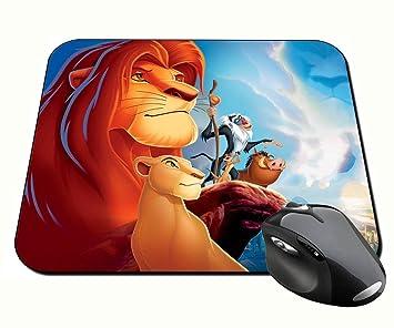 El Rey Leon The Lion King A Alfombrilla Mousepad PC: Amazon.es: Informática