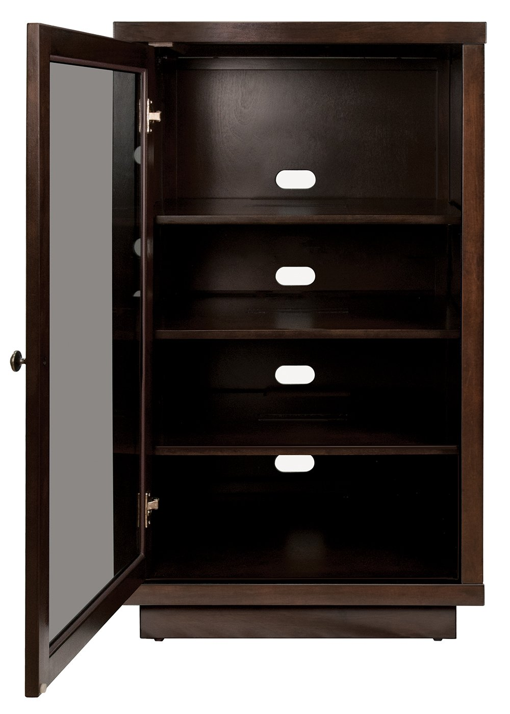 audio furniture audio racks and cabinets bell o atc402 audio component cabinet espresso 10794
