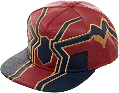 Bioworld Marvel Avengers: Infinity War Spider Suit Up PU Snapback ...