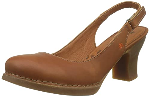 fd5b2d7a ART 1066 Grass Cuero/Harlem, Zapatos de tacón con Punta Cerrada para Mujer:  Amazon.es: Zapatos y complementos