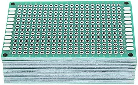 ILS/  / 10/ piezas 40/ x 60/ mm FR-4/ 2.54/ mm Double Side Prototype PCB Printed Circuit Board