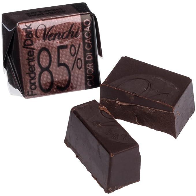 Venchi Cubotto Puro Fondente 85% Chocolate Oscuro 1000 g: Amazon.es: Alimentación y bebidas
