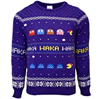 Pac-Man Official Christmas Jumper/Ugly Sweater