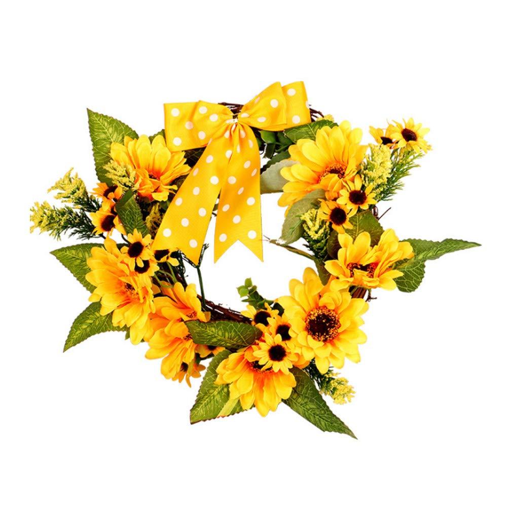 100x Silk Leaf Wreath Leaves Flower Bouquet Garland DIY Wedding Party Home Decor