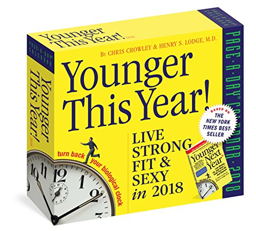 Younger This Year! Page-A-Day Calendar 2018