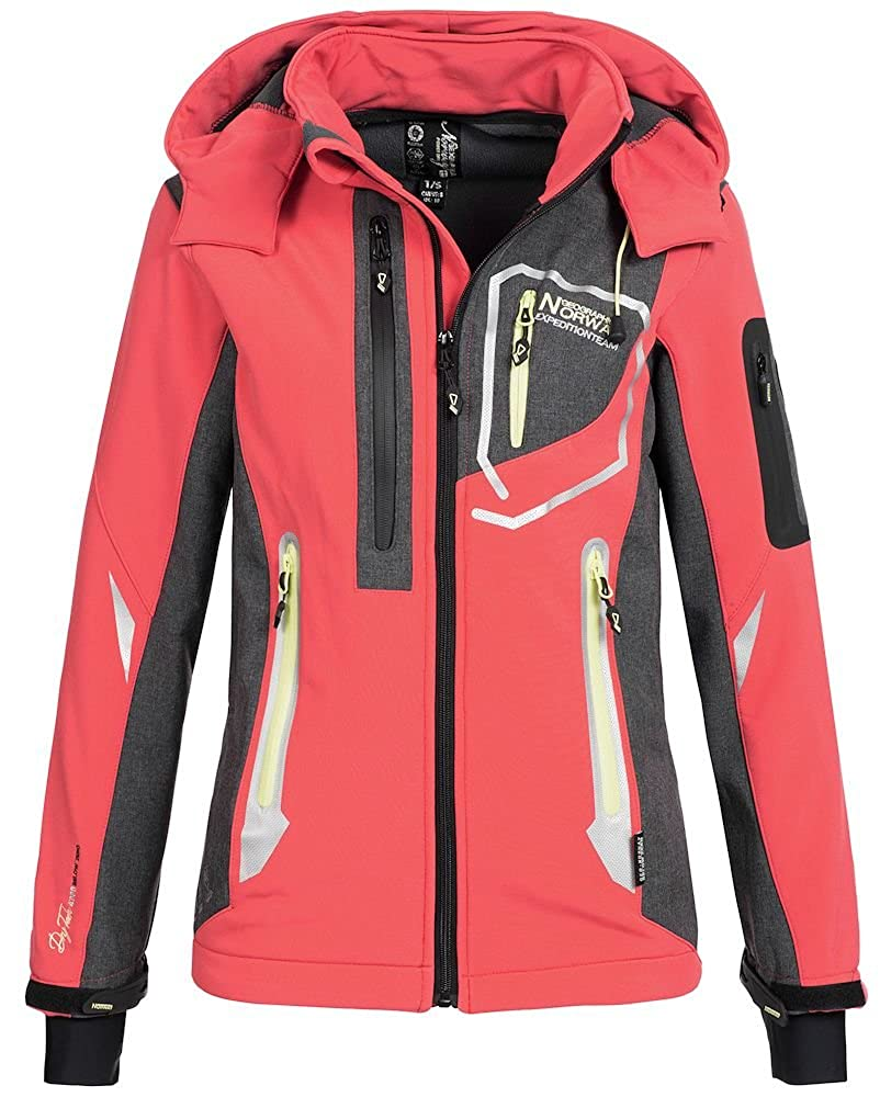 Geographical Norway Damen Softshelljacke Jacke Thailande