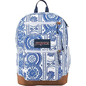 JanSport Cool Student Backpack (White Swedish Lace)