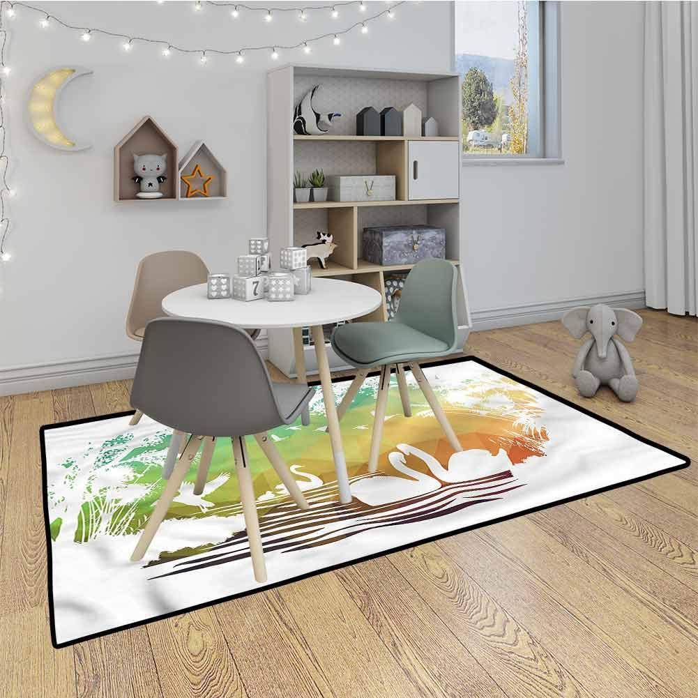 Patio Rug Wildlife Lovers Soul Mates Extra Larg