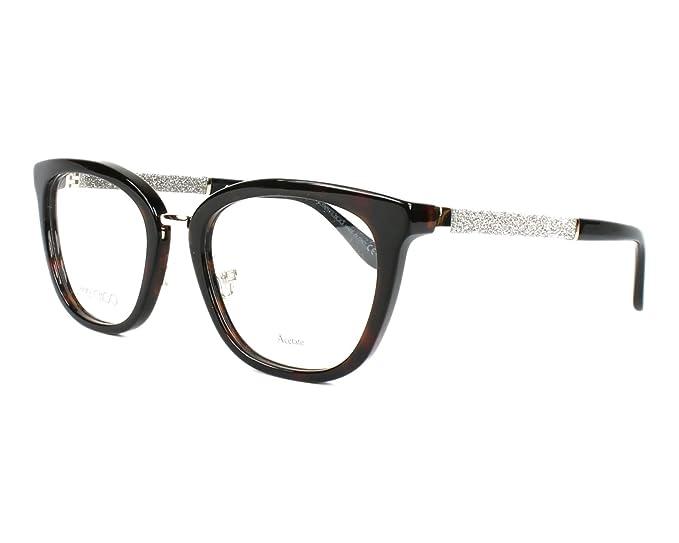 d9e21a3e10 Jimmy Choo Glasses JC-165 KBE 51  Amazon.co.uk  Clothing