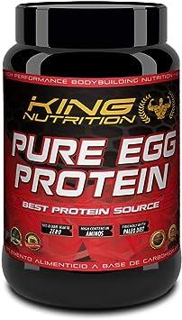 Pure EGG Protein 1Kg Vainilla Proteina de clara de huevo - sin lactosa - sin grasas - sin colesterol.
