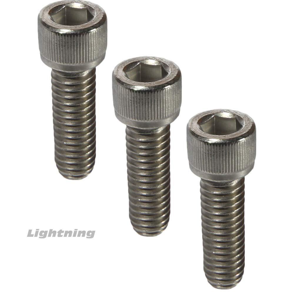 10-32 Socket Head Cap Screws Fully Threaded 18-8 Stainless Steel Allen Qty 50 Pc