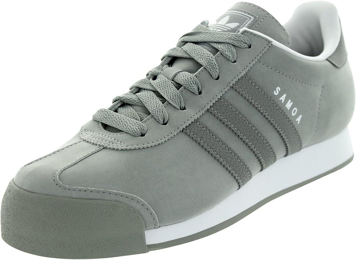 Amazon.com   adidas Samoa Men Sneakers Shift Grey/White G56859 ...