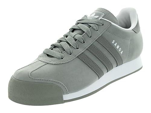 Amazon.com | adidas SAMOA Men Sneakers Shift Grey/White G56859 (SIZE: 7.5) | Fashion Sneakers