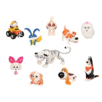 Secret Life of Pets 2 JP ECE07000 10 Pack Figure Set Toy: Toys & Games
