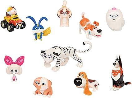 Amazon Com Secret Life Of Pets 2 Jp Ece07000 10 Pack Figure Set Toy Toys Games