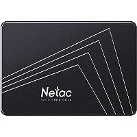 """Netac SSD 128GB, Disco Duro Estado sólido Interna, 3D NAND Flash Unidad, 2.5"""" SATAIII 6Gb/s, hasta 510MB / s con caché…"""