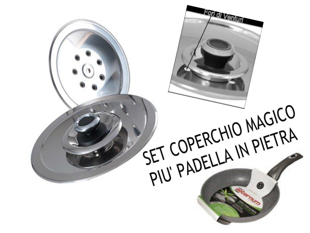 MAGICO Tapa DN32 + Olla de Piedra DN32: Amazon.es: Hogar
