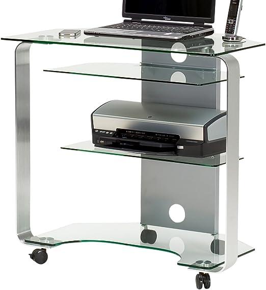 Jahnke CU de Mr 200 S klgl,/aluminio pulido de esquina mesa para ...