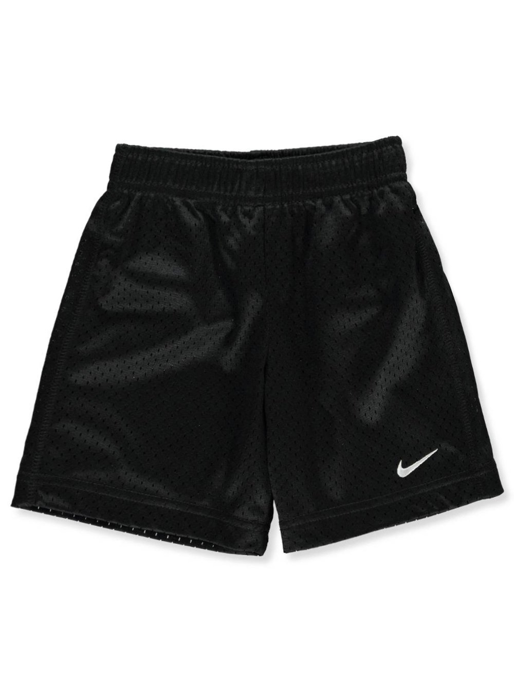 Nike Little Boys Solid Mesh Shorts (3T, Black)