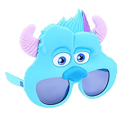 5a3eb33923 Image Unavailable. Image not available for. Color  Costume Sunglasses  Monsters Sullivan Sun-Staches Party Favors UV400