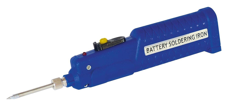 Soldador a pilas (4,5 V / 8 W, con accesorios): Amazon.es: Electrónica