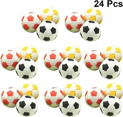 Toyvian 24 Piezas Borradores de Balón de Fútbol Pelota de Deporte ...
