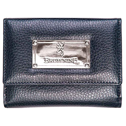Browning Women's Leather French Wallet | Black