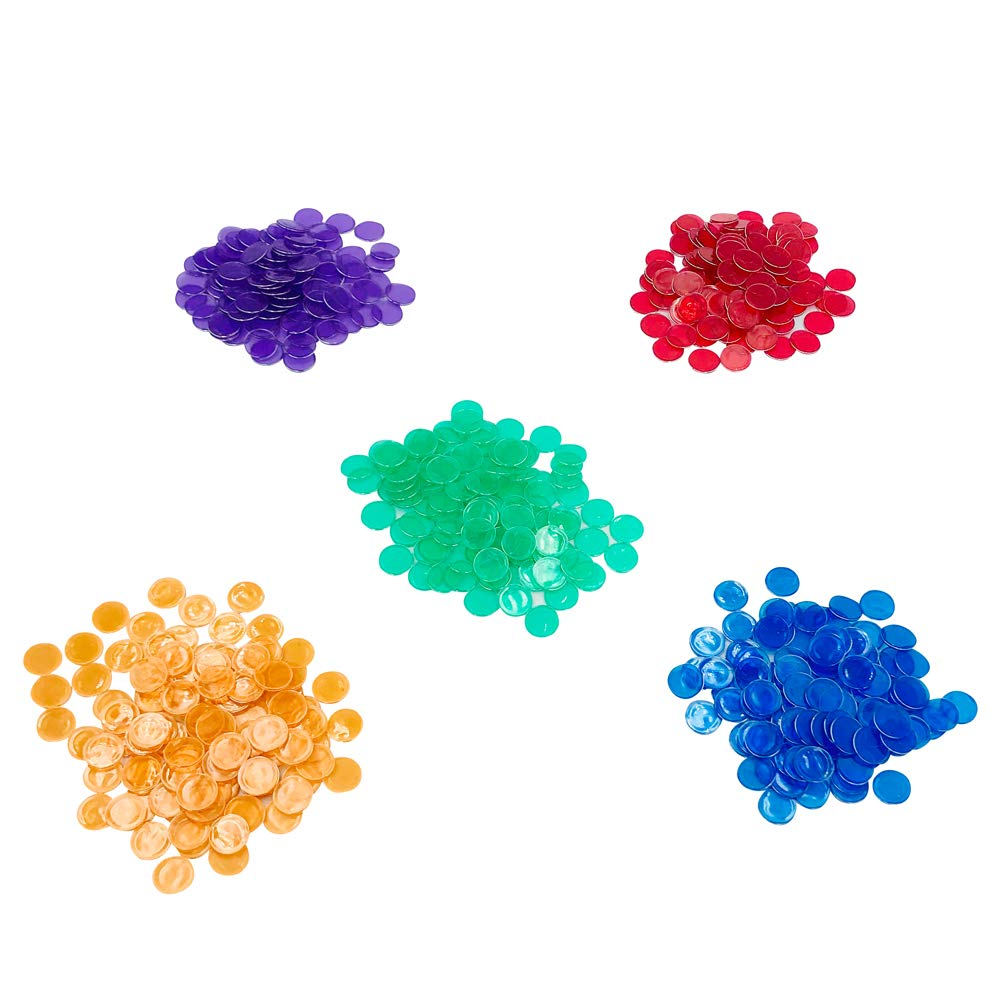 Green Yuanhe Bingo Magnetic Wand with 100 Chips 5 Sets in Color Red Yellow, Purple and Blue Per Order