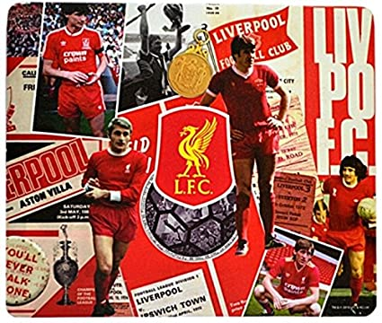 Liverpool F.C RETRO SHIRT Personalised Mouse Mat