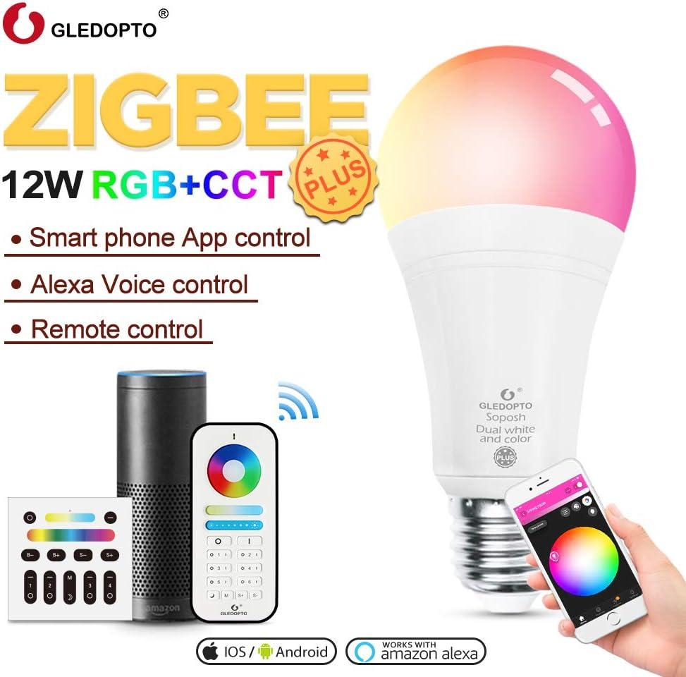 ElecGear ZigBee 12W Smart LED Lampe mit Fernbedienung