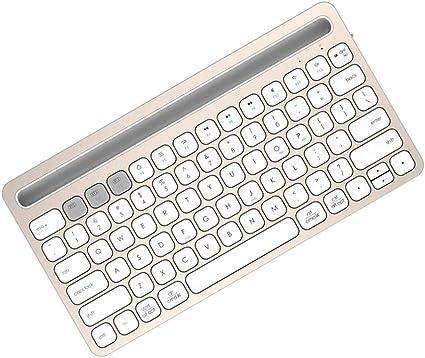 NCBH Teclado Bluetooth portátil, Teclado de Tableta para ...