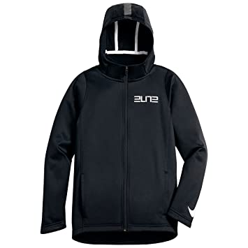 Nike B NK THRMA Elite Hoodie FZ STR - Sweatshirt Schwarz - M - Jungen 1fa5f58324