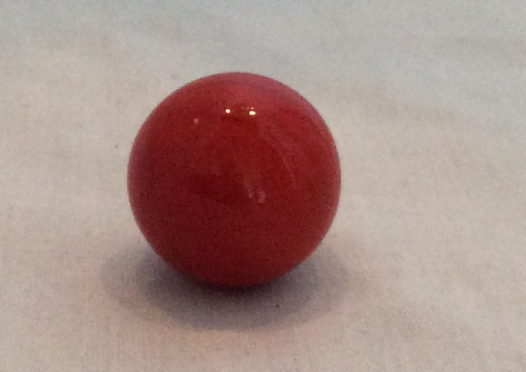 10 pack Mega Marbles Opaque Red 16mm or 5/8