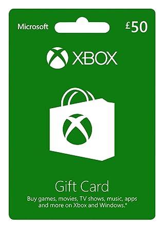 Microsoft Gift Card - Gbp50 (Xbox One/360) [Importación ...