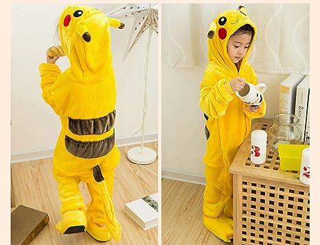 SHOUSBOXHI - Pijama de Pokémon para niños, una Pieza, Disfraz de ...