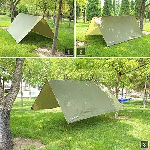 Thebluestone Rain Tarp Shelter In 10 X 10 Ft For Canopy