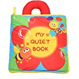 KMMall Soft Activity Books for Children Toddler Learning Story Book Life Education Sleep Books Baby Toys