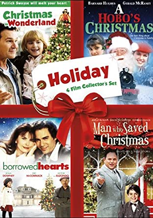 Christmas In Wonderland.Amazon Com Holiday Four Film Collector S Set Christmas In