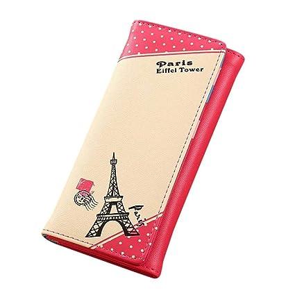 Billetera Kukul Mujer Paris Torre Eiffel Monedero Cache ...