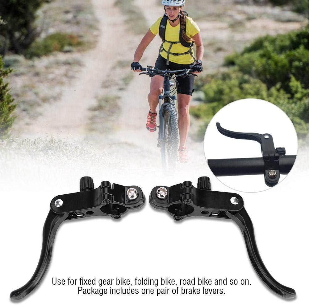 Poign/ée de Frein de Bicyclette en Alliage dAluminium Leviers dembrayage pour Guidon de 31.8mm VGEBY1 Levier de Frein de Bicyclette de 1 Paire