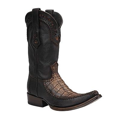 1B27FY Cuadra Crocodile Urban Western boots
