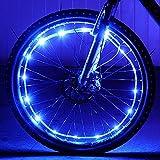 Waterproof LED Bike Wheel Light - DAWAY A01+ Bicycle Spoke Light, Cool Safety Bike Tire...