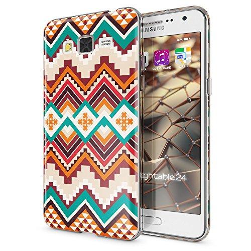 Shockproof Hybrid TPU Case for Samsung Galaxy Grand Prime (Black/Grey) - 9