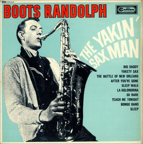 Price comparison product image Boots Randolph The Yakin' Sax Man 1964 UK vinyl LP CDN-5120