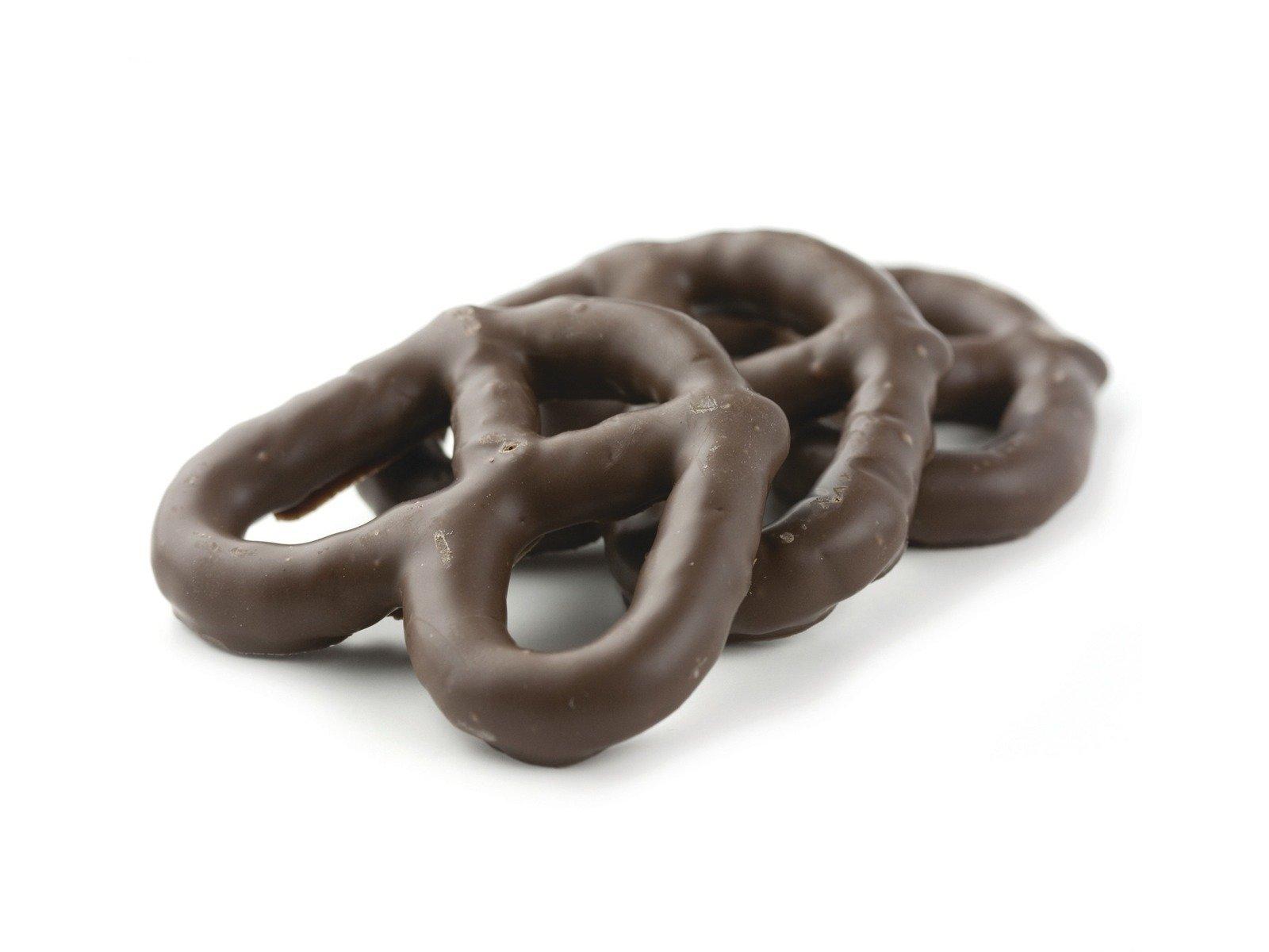 Asher's Rich Milk Chocolate Pretzels - One Pound