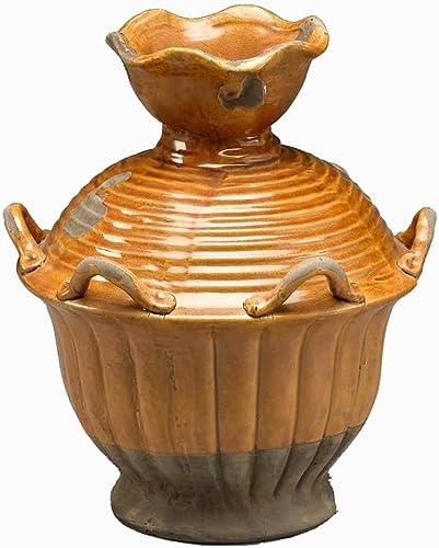 AA Importing Vase in Brown