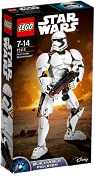 LEGO Star Wars Buildable Figures First Order Stormtrooper, Colore Non specificato, 75114