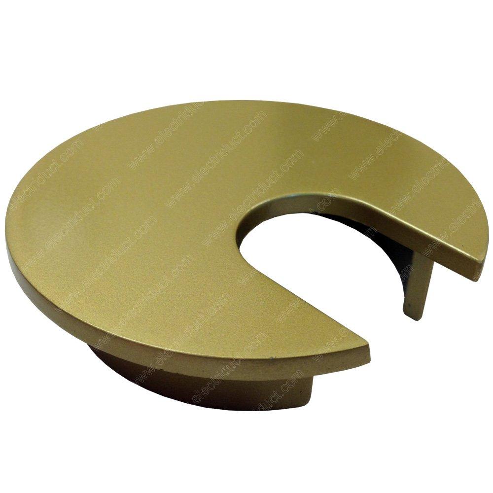 2'' Metal Desk Grommet - Color: Gold - 100 Pieces